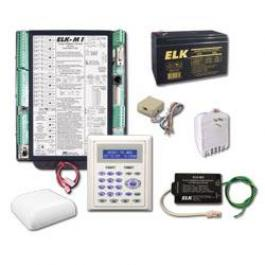 Elk M1GKS M1 Gold Kit with M1KP2 LCD Keypad, No Enclosue
