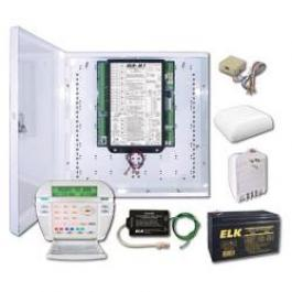 Elk M1GSYS4 M1 Gold Kit with M1KP LCD Keypad and Enclosure