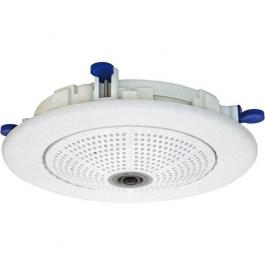 Mobotix MX-OPT-IC-ESPO In-Ceiling-Set Polished Housing for Q24M Series *Image shown in White Finish*
