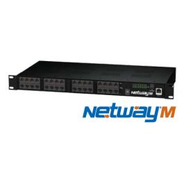 NetWay16M, Altronix Power over Ethernet / PoE Midspans