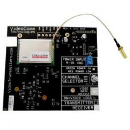 VideoComm RCT-5808 5.8GHz Deluxe 8-Channel Receiver Developer Board