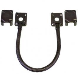Seco-Larm SD-969-M15Q/B Stainless-Steel Armored Door Cord