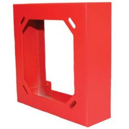Bosch SER-R Square Semi-flush Extension Ring - Red