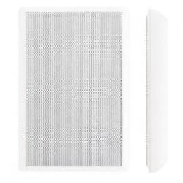 "Speco SP5SLTW 5.25"" 70V Slim Style Wall-Mount Speaker - White"