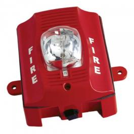 Bosch SS-SRK Two-Wire Wall Mount Strobe - Red