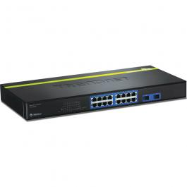 TRENDnet TEG-160WS 16-port Gigabit Web Smart Switch
