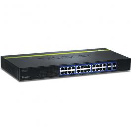 TRENDnet TEG-240WS 24-port Copper Gigabit Smart Switch
