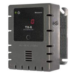 Macurco TX-6-HS Hydrogen Sulfide Gas Detector Controller & Transducer