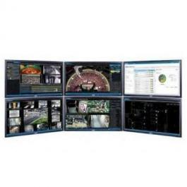 Pelco U1-OPS-WKS6 VideoXpert Ultimate Work Station with 6 Monitors