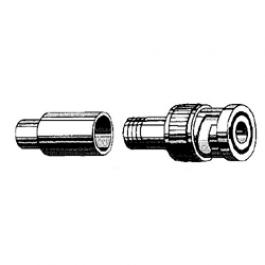 Vitek VT-BNC-CRIMP-PL 2 Piece BNC Crimp-On Connector