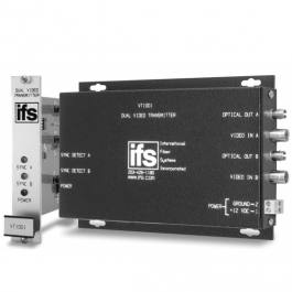 Interlogix VT1001 Dual Video Transmitter - MM