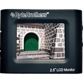 Byte Brothers VTX025 2.5-inch Mini Color Monitor
