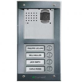Comelit VV4F Vandalcom Video flush mount 4 button entry panel kit