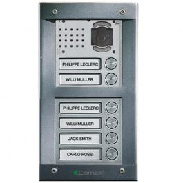 Comelit VV6F Vandalcom Video flush mount 6 button entry panel kit