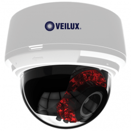 Veilux VVIP-2V-W 2 MP Vandal Network IR Dome with super WDR