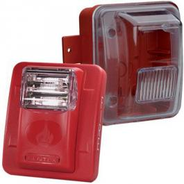 Bosch WGES24-75WRLP Weatherproof Low-Profile Strobe - Red