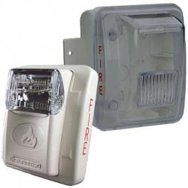 Bosch WGES24-75WWLP Weatherproof Low-Profile Strobe Off-White