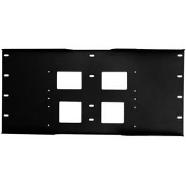 Peerless WSP716 Triple Metal Stud Wall Plate