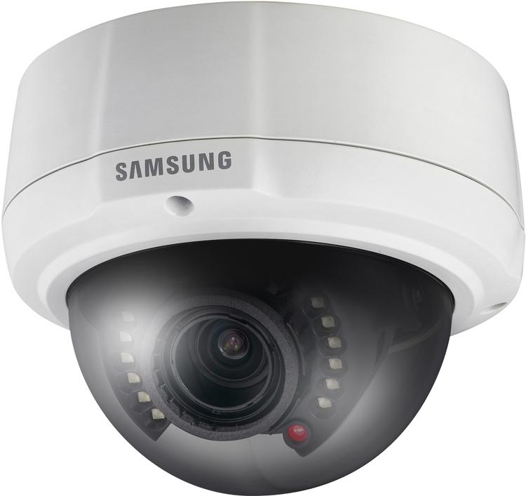 Samsung Security SCV-2081R Outdoor Vandal-Resistant IR Dome Camera ...