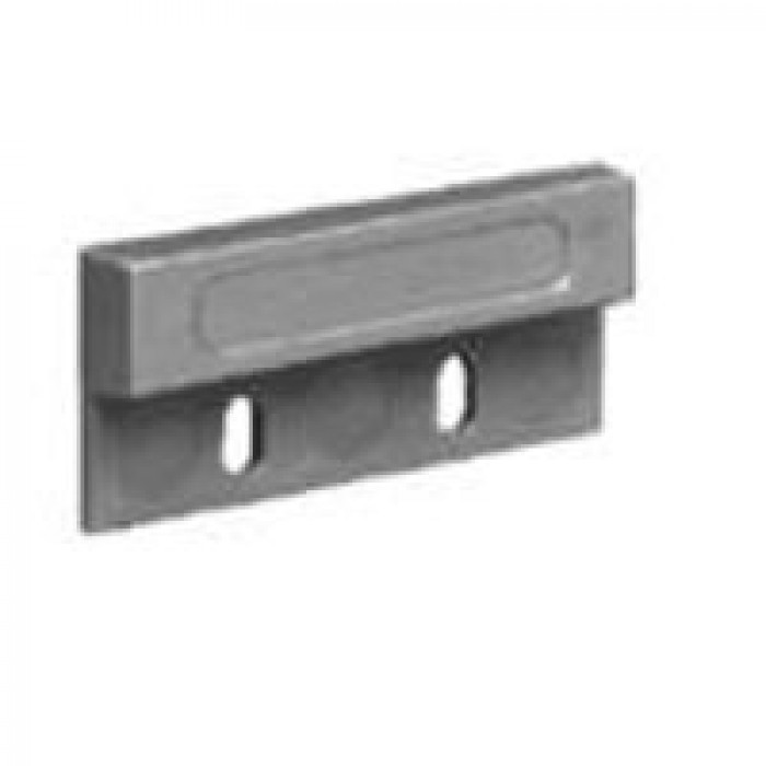 Interlogix 1937-G Magnet, 1032 Series, Grey, Includes Magnet and Tape