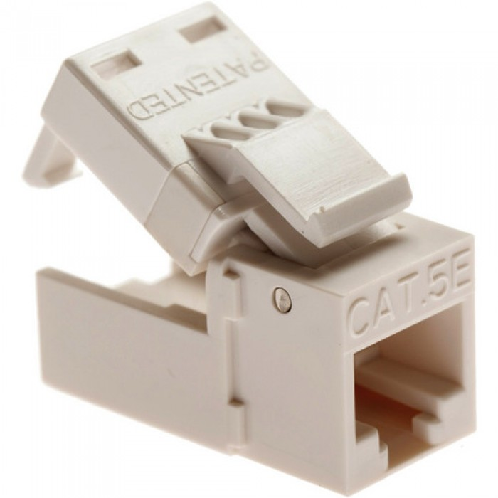 Platinum Tools 705LA-1 EZ-SnapJack Cat5e Light Almond