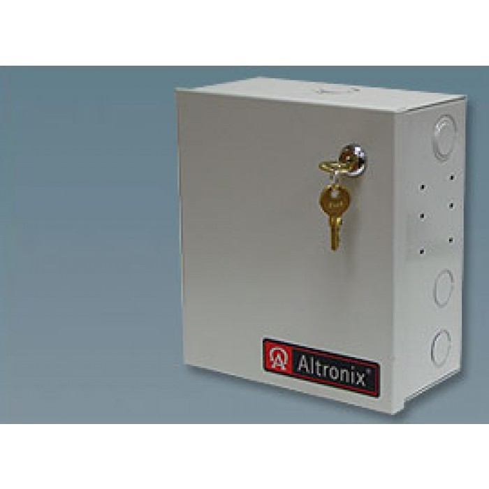 Altronix ALTV2416300ULM 16 Output Power Supply, 24/28 VAC, 12.5/10.0 Amp, Fused, UL Listed, Mini Cabinet