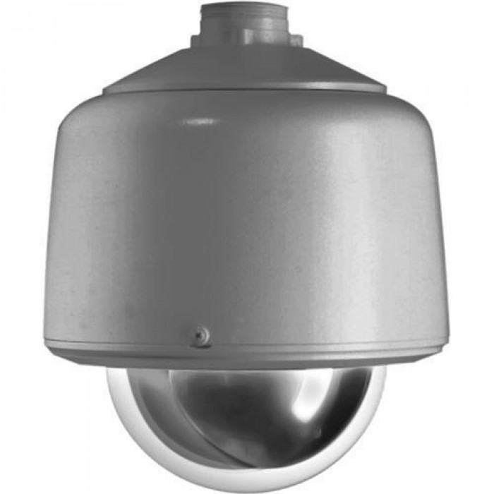 Pelco DF5-PG-1 Fixed Mount Pendant Gray Indoor Housing with Clear Dome