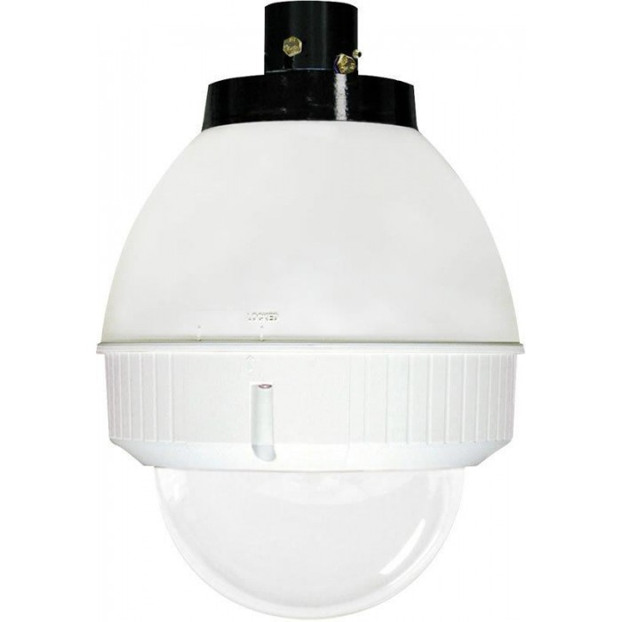 Moog IFDP75CN IP Network Ready Indoor Dome Housing with Pendant Mount, Clear Dome