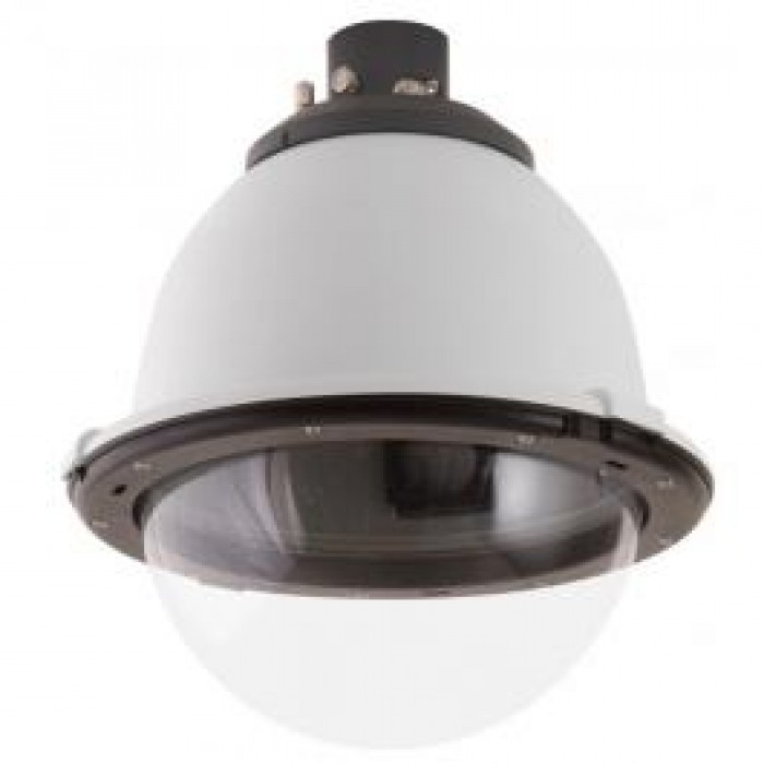 "Moog IFDP8CF 8"" Indoor Fusion Dome Housing with Pendant Mount, Clear Dome"