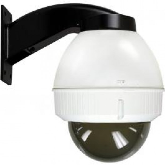 """Moog IFDW75TN IP Network Ready 7"""" Indoor Dome Housing with Wall Mount, Tinted Dome"""