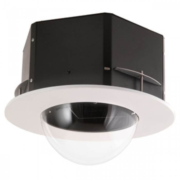 Videolarm MR7CN IP Network Ready 7in Recessed Ceiling mount dome hsg, clear IP ptz, includes trim ring