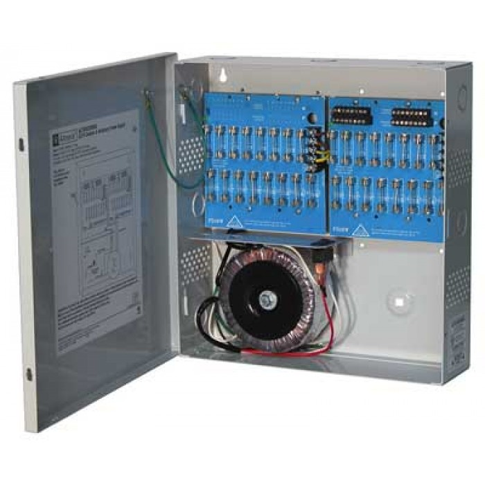 Altronix ALTV2432300UL Thirty-two (32) Output Power Supply, 24/28 VAC, 12.5/10.0 Amp, Fused, UL Listed