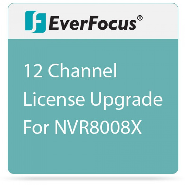 Everfocus XMSUP12 12-Channel License Upgrade for NVR8008X Series
