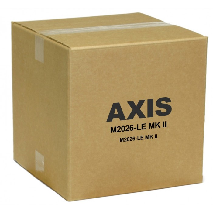 Axis 01049-001 M2026-LE 4 Megapixel Network Bullet Camera 2.4mm Lens