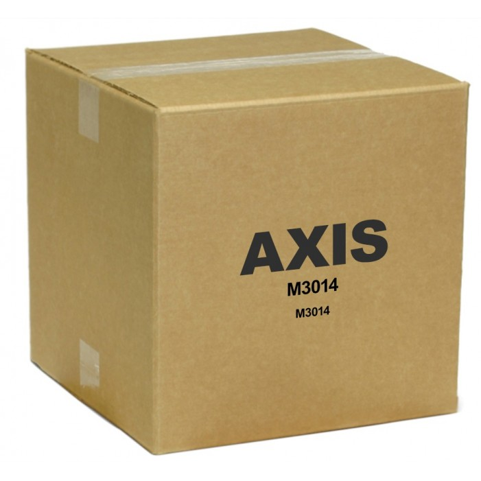 Axis 0285-021 10 Pack- M3014 Ultra Discreet Indoor Network Dome Camera