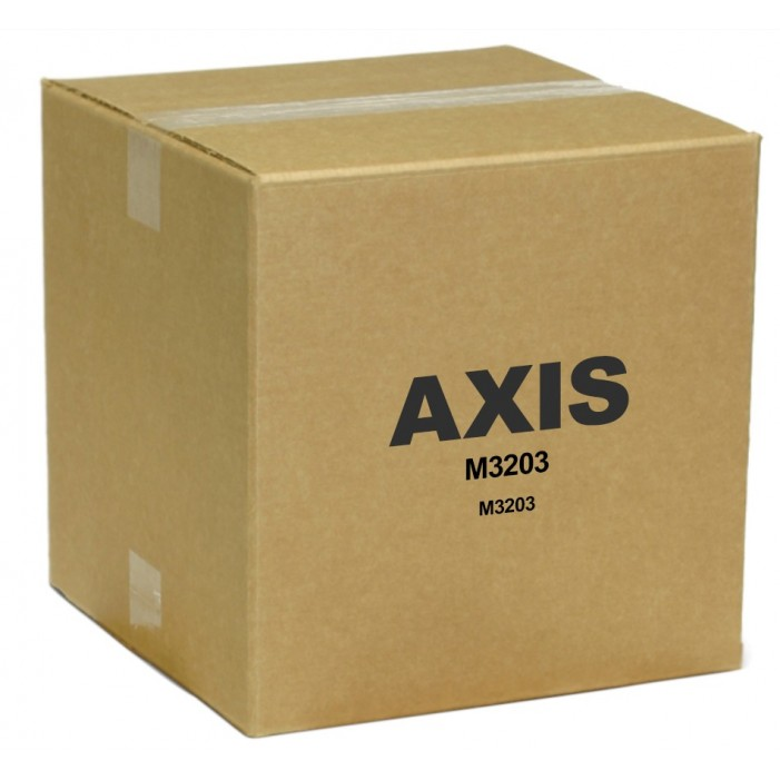 Axis 0336-001 M3203 Fixed Dome Network Camera, Tamper Resistant Casing
