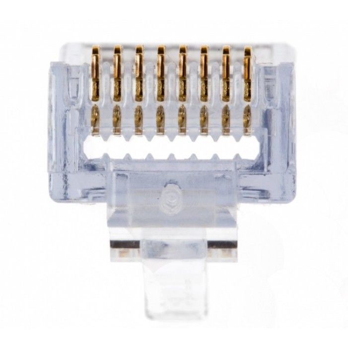 Platinum Tools 100010B EZ-RJ45(tm) Cat 6+ Conn., 100 Pc. Box.