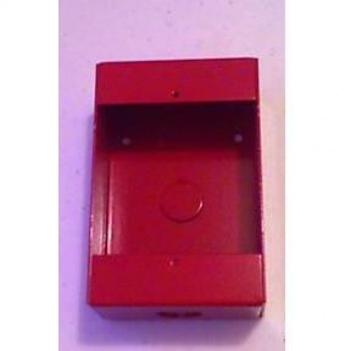 Interlogix 103-25 Red Surface Back Box