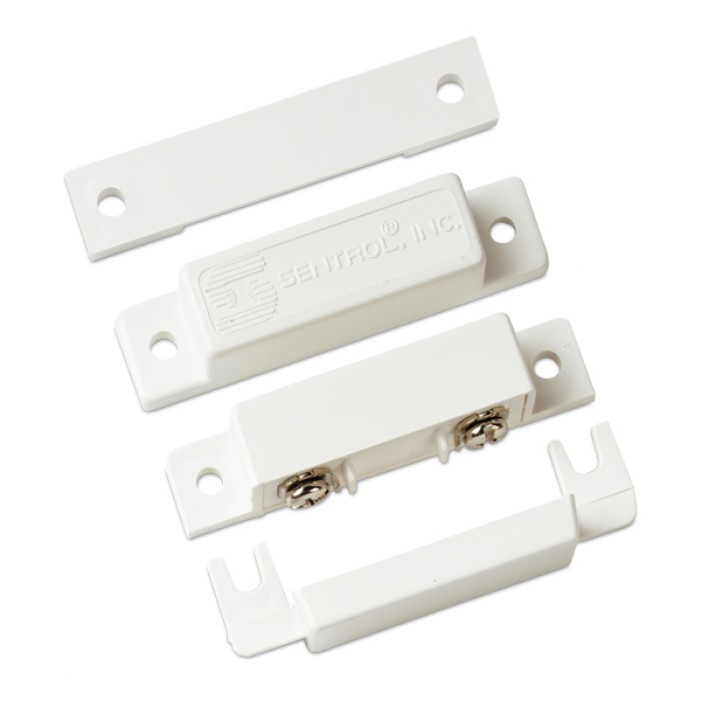 Interlogix 1085TW-N Screw Mt Terminal Contact, Closed White 1 1/2 Gap