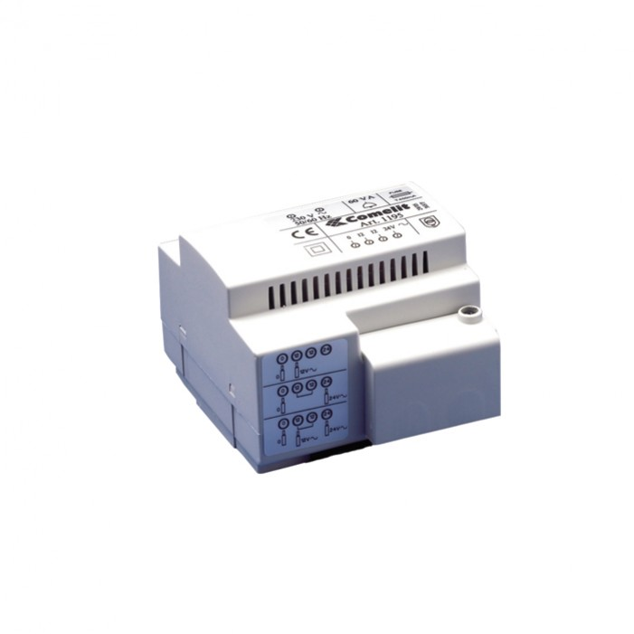 Comelit 1212BUL Transformer for additional monitors - CSA rated