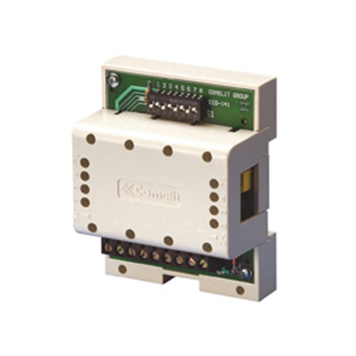 Comelit 1256 Actuator Relay for Controlling a 10A Contact for Simplebus2