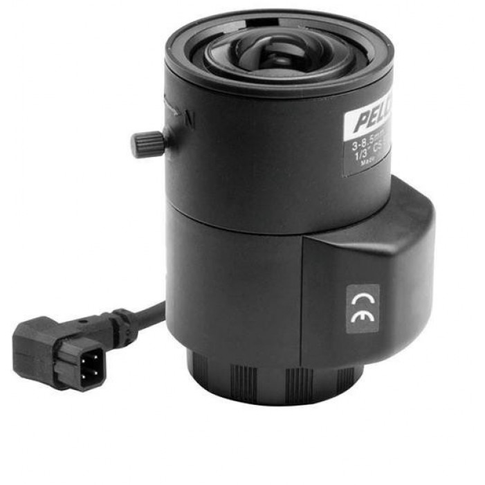Pelco 13VDIR3-8-5 3.0-8.5 mm Direct Drive AI, IR-corrected, CS-Mount