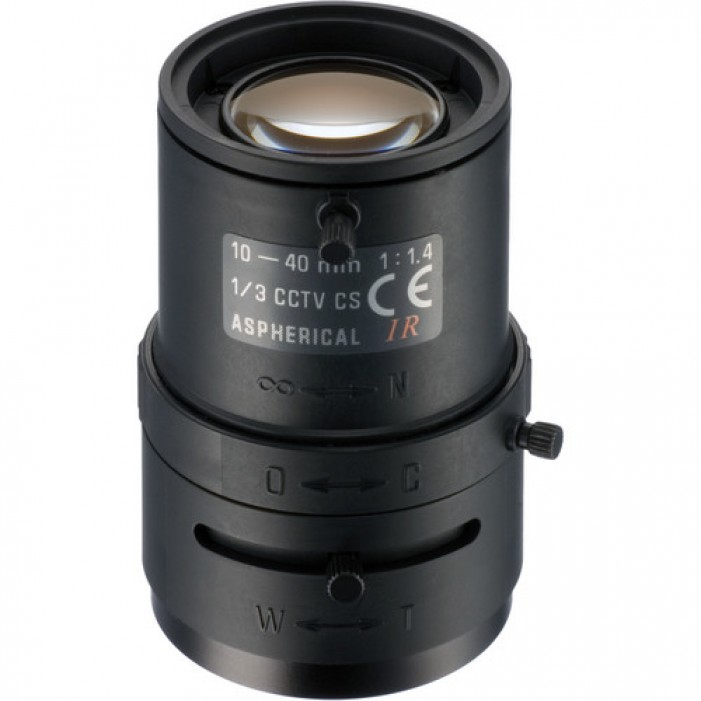 Tamron 13VM1040ASIR Infrared Lens, 10-40mm with F/1.4 Aperature
