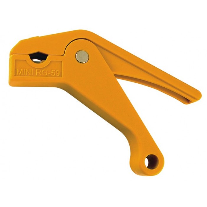 Platinum Tools 15024C SealSmart RGB/Mini Coax Stripper (Yellow)
