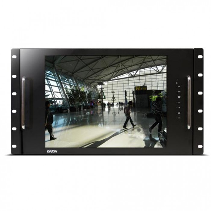 Orion 15RCR 15-inch LCD CCTV Rack Mount Ready Metal Cabinet Monitor