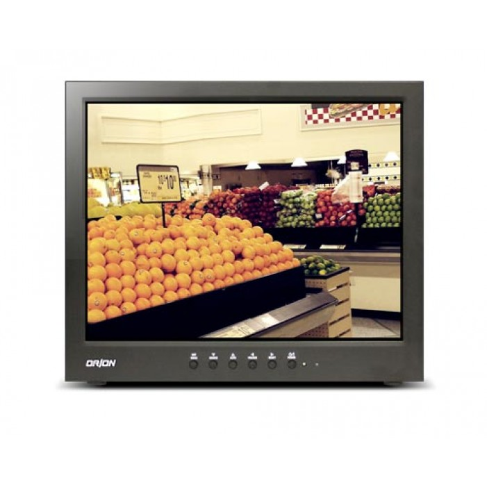 Orion 15RTC 15-inch Premium Series LCD CCTV Metal Cabinet Monitor