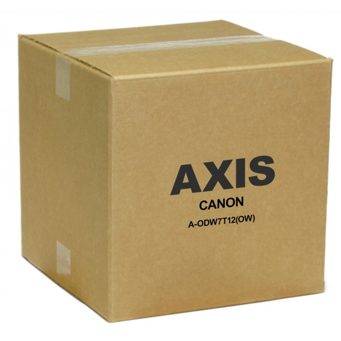 """Axis 1923V397 A-ODW7T12(OW) 7"""" Wall-Mountable Outdoor Vandal Dome Housing with 12VDC Heater and Blower, Tinted"""