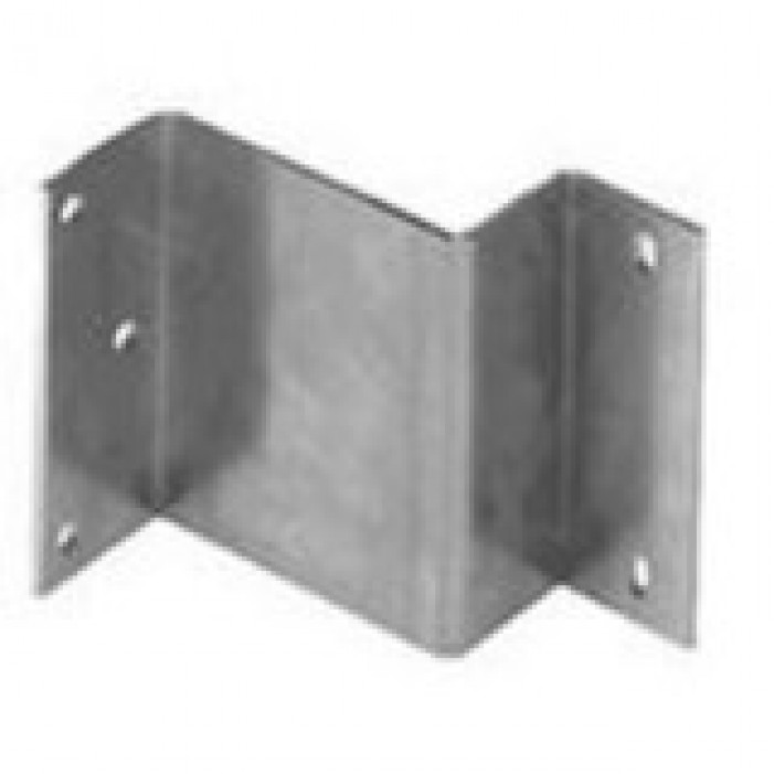 Interlogix 19401-L Garage Door Track Bracket for 1082T-W/1285T-W/2215 Series, Aluminum