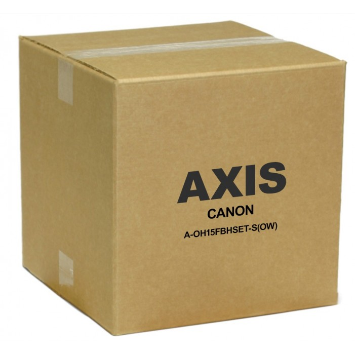 Axis 2038V641 A-OH15FBHSET-S(OW) Outdoor Camera Housing with Heater & Blower and Wall Bracket