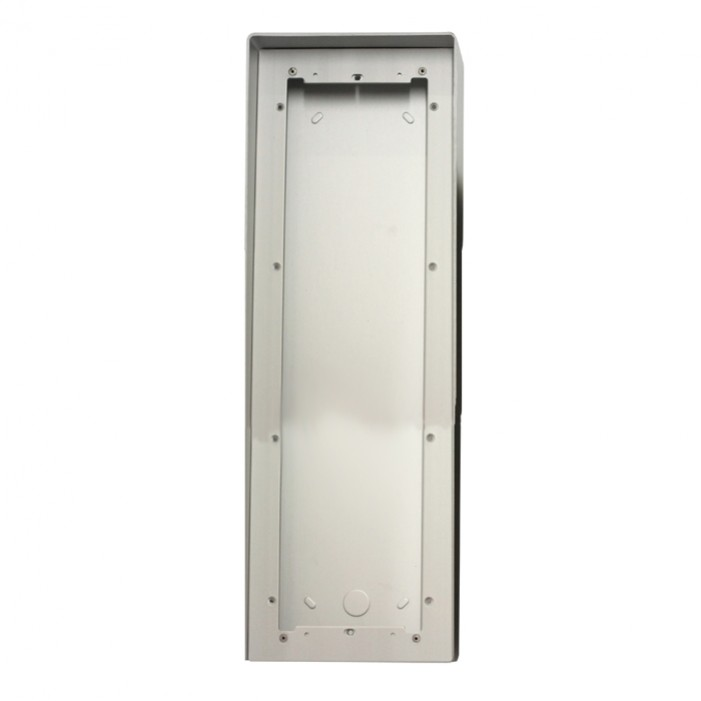 Comelit 31164L Housing with rain shield for vertical 4 modules entrance panel